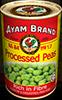 processed peas 425