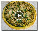 Tuna Pesto Pizza