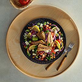 希腊鲭鱼片沙拉