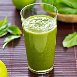 健康绿色冰沙