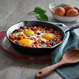 一锅鸡蛋焗豆