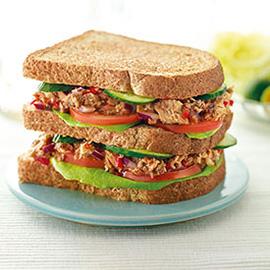 沙丁鱼三明治