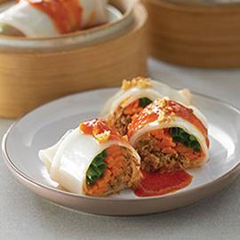 沙丁鱼蒸饭卷